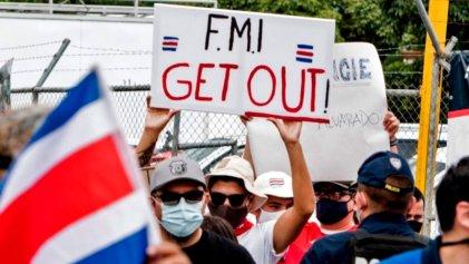 Las calles de Costa Rica le dijeron no al FMI