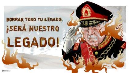 """Editorial gráfico: """"Borrar todo tu legado será nuestro legado"""""""