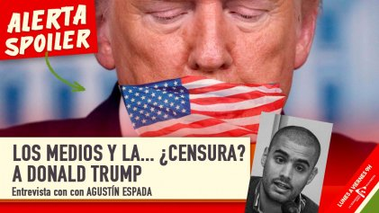 Los medios y la ¿censura? a Donald Trump
