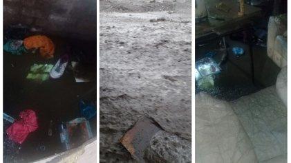 [Videos] Así se vivió el temporal en el barrio La Quebrada