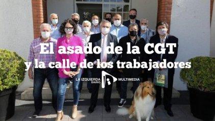 El asado de la CGT y la calle de los trabajadores