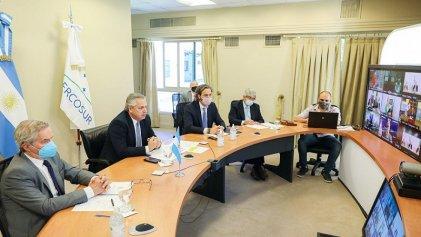 Alberto Fernández asumió la presidencia pro tempore de un Mercosur en stand by