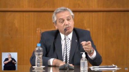 Alberto Fernández viajó a San Juan pero no anunció ninguna medida de emergencia