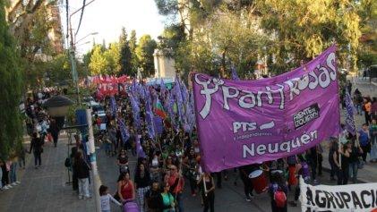 Neuquén: Pan y Rosas llama a movilizar el próximo 24 de Marzo