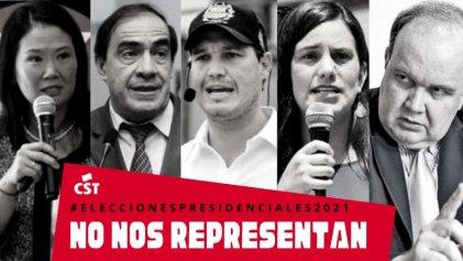 """Elecciones presidenciales en Perú: """"No nos representan"""""""