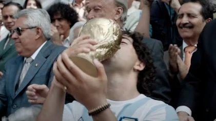 La serie que Maradona ayudó a escribir presentó su tráiler