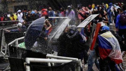 La rebelión colombiana en los ojos del fotógrafo Sergio Ángel