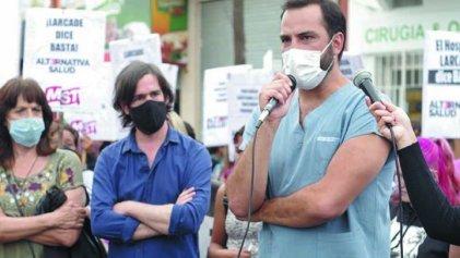 Hospital Larcade: referentes del Frente de Izquierda-Unidad contra la persecución del intendente Méndez