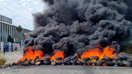 Gran jornada de huelga convocada por CGT en Airbus Puerto Real