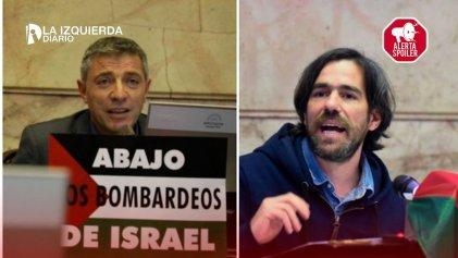 """Del Caño: """"Defender la libertad de expresión es repudiar los ataques sionistas al Frente de Izquierda"""""""