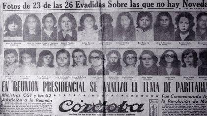 """A 52 años del Cordobazo: """"El buen pastor, una fuga de mujeres"""""""