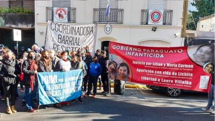Acto en La Plata a siete meses de la desaparición de Lichita