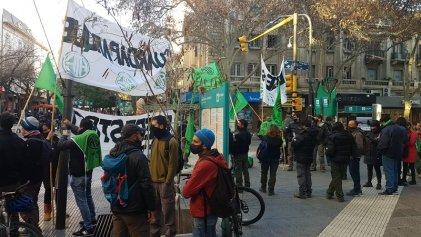 Guardaparques de Mendoza se movilizaron por el salario y contra la precarización laboral
