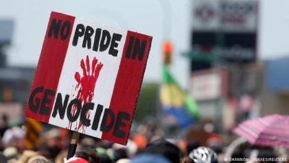 Canadienses se levantan contra la historia de genocidio del país
