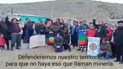 """Territorio Mapuche: """"las tranqueras estarán cerradas para las empresas mineras"""""""