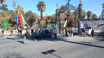 Guardaparques de Mendoza se manifestaron por mejoras salariales y en defensa de las áreas protegidas