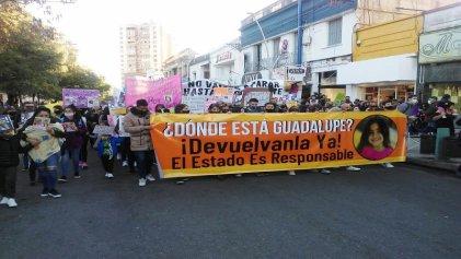 Masivo reclamo por la aparición con vida de Guadalupe Lucero Cialone