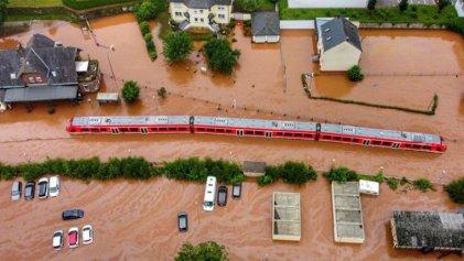La catástrofe de las inundaciones en Europa Central y el cambio climático