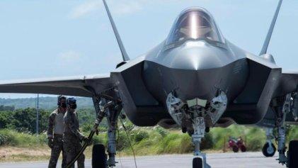 Estados Unidos envía aviones de combate para ejercicio militar en el Pacífico