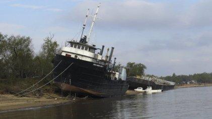 Río Paraná: con -30 centímetros, sigue bajando y se acerca a niveles históricos