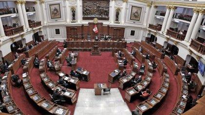 El Congreso de Perú votó ley para blindarse ante cualquier intento de disolución