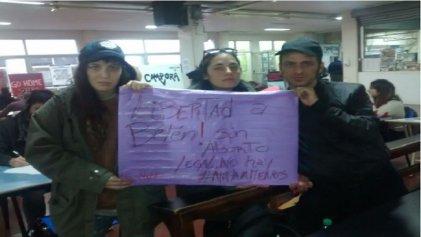 Sara Hebe, Pecho y Flor Linyera por #LibertadParaBelen