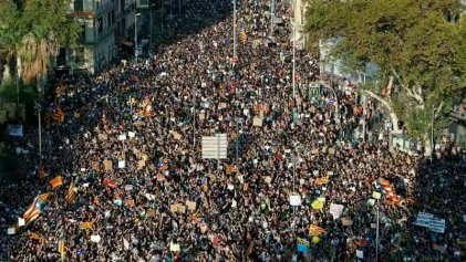 [VIDEO] Así fue la jornada de huelga general en Cataluña