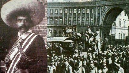 Carta de Emiliano Zapata a los revolucionarios rusos