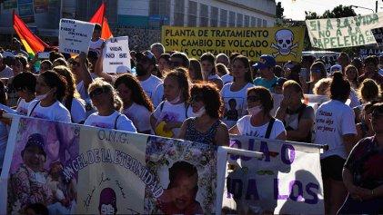 """Gualeguaychú contra el cáncer: """"La vida de nuestros hijos no se negocia"""""""