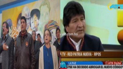 Con la ayuda de Evo Morales y el MAS, la oposición patronal se anotó un punto