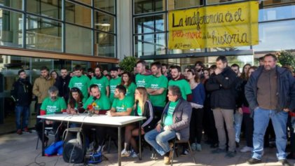 Detienen al Secretario General de la CGT en Catalunya por protestar contra los recortes en la Universidad