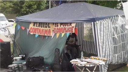 Con un festival en San Justo denunciaron la contaminación de Klaukol