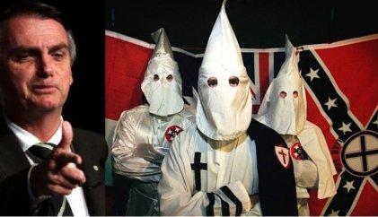 """Exlíder del Ku Klux Klan apoya a Bolsonaro: """"Él suena como nosotros"""""""