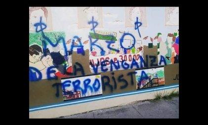 Vandalizaron un mural que reivindica a los 30 mil desaparecidos de la última dictadura