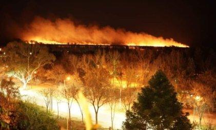 Ya son 407 los focos de incendio en el Delta del Paraná
