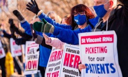 Oleada de huelgas en Estados Unidos bajo el gobierno de Biden