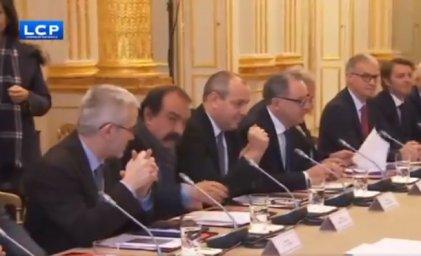 """La traición de las direcciones sindicales que responden al llamado de Macron para """"mantener el orden"""""""