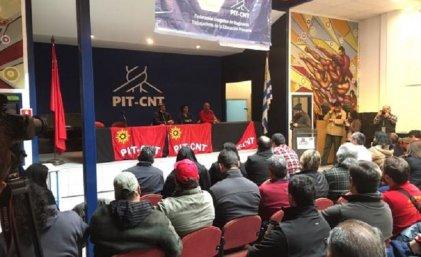 Paro general de PIT-CNT con importante acatamiento en Uruguay