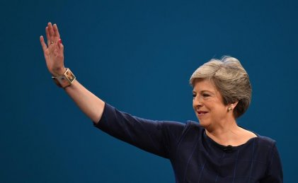 May ofreció renunciar para lograr apoyo a su plan de Brexit