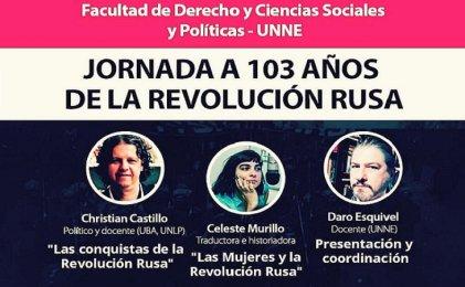 Jornada a 103 años de la Revolución Rusa en la Universidad Nacional del Nordeste