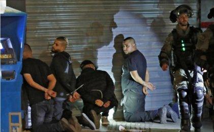 Policía desata una cacería de palestinos con ola de detenciones en Israel