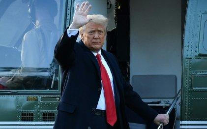 Trump fue absuelto por el Senado en su segundo impeachment