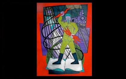 Trotsky por Mike Alewitz