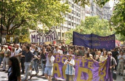 Suteba La Matanza y las jornadas del 2001: un balance necesario
