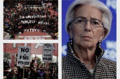La fuerza está: ganan estudiantes y docentes o el FMI y los especuladores