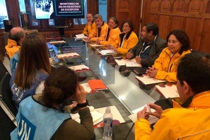 El INDH de Chile se reunió con observadores de la ONU