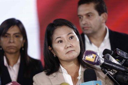 Fiscal de lava jato pide prisión preventiva para Keiko Fujimori