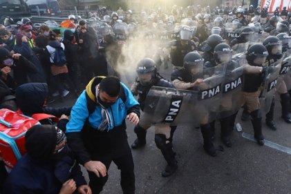 Argentina: movilización de trabajadores y desocupados fue reprimida por el Gobierno de Fernández