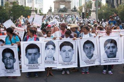 Inician movilizaciones a 2 años de Ayotzinapa