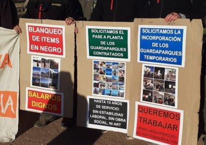 Guardaparques denuncian que la policía de Mendoza los intimida en el Parque Benegas
